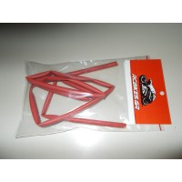 6mm Heat Shrink Tube - RED (1mtr)