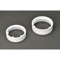 Thunder Tiger Wheel Rims (white)